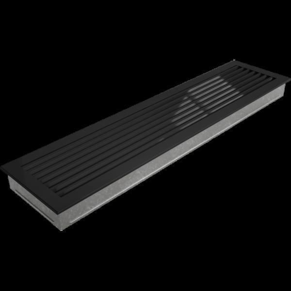 Решітка FRESH чорна 17x70