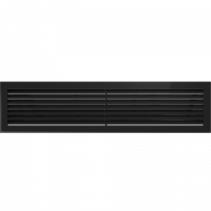 Решетка FRESH черная 17x70