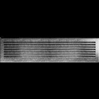 Решітка FRESH чорно-срібна 17x70