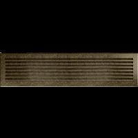 Решітка FRESH чорно-золота 17x70