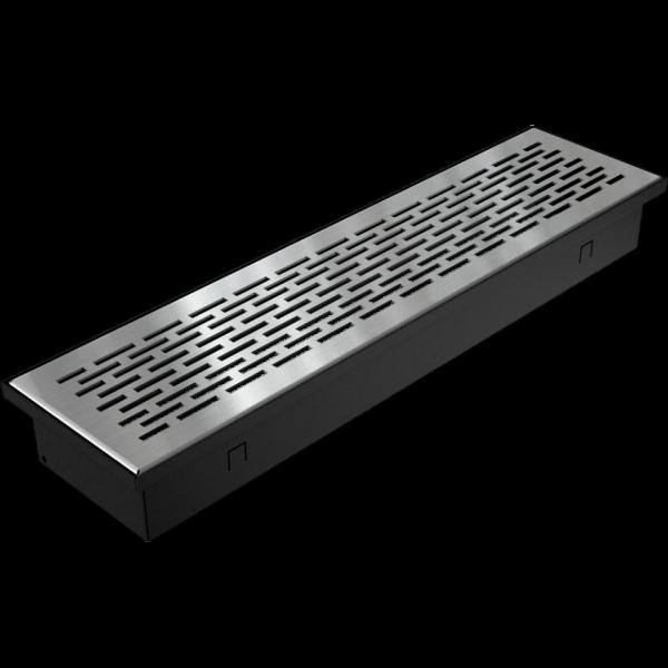 Решітка FLOOR шліфована 9x40
