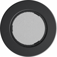 Решітка кругла графітова Ø 100