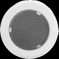 Решітка кругла біла Ø 150