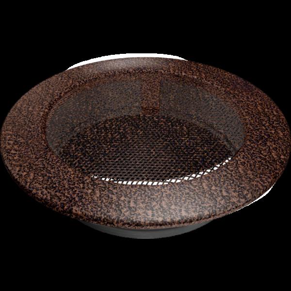 Решітка кругла мідна Ø 150