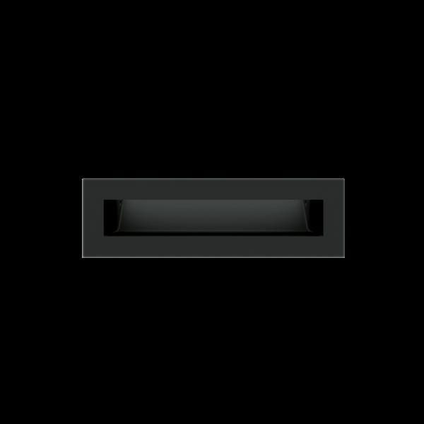 Решітка LUFT SF чорна 6x20
