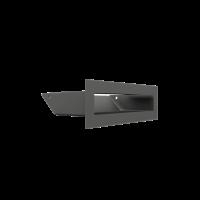Решітка LUFT графітова 6x20