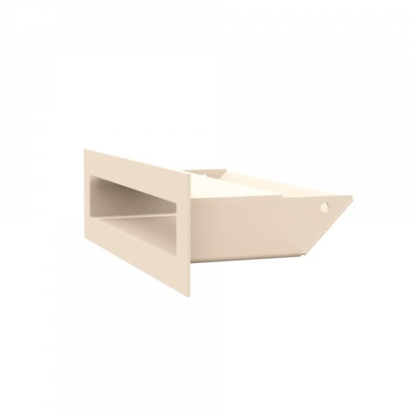 Решітка LUFT кремова 6x20