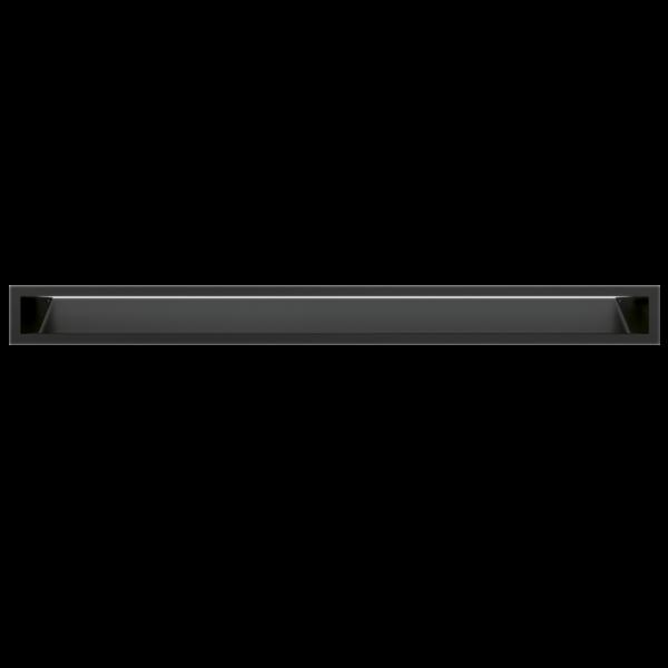 Решітка LUFT чорна 9x100