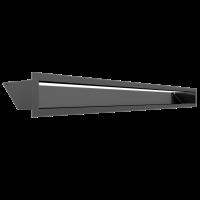 Решітка LUFT графітова 9x100