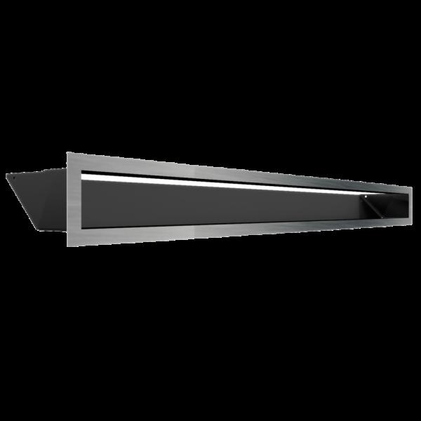 Решітка LUFT шліфована 9x100