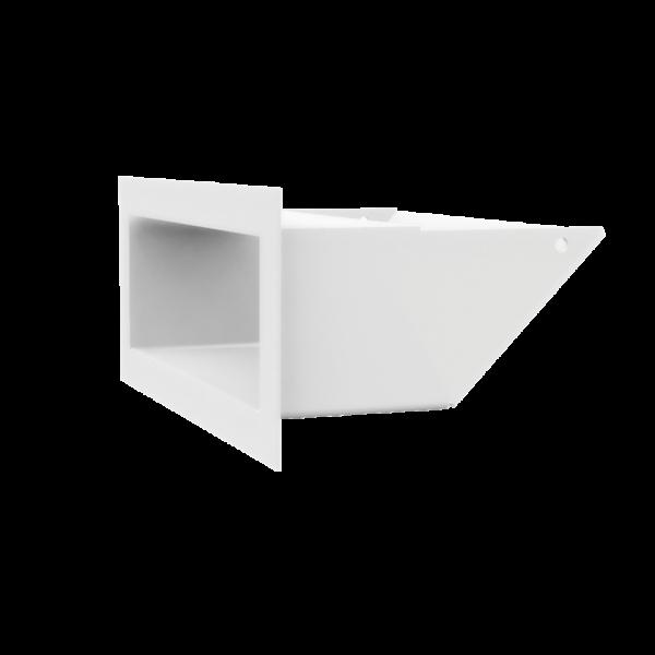 Решітка LUFT SF біла 9x20