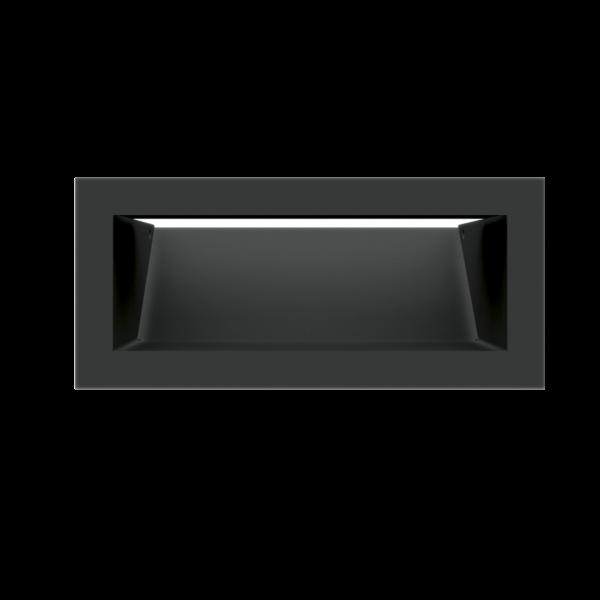 Решітка LUFT SF чорна 9x20