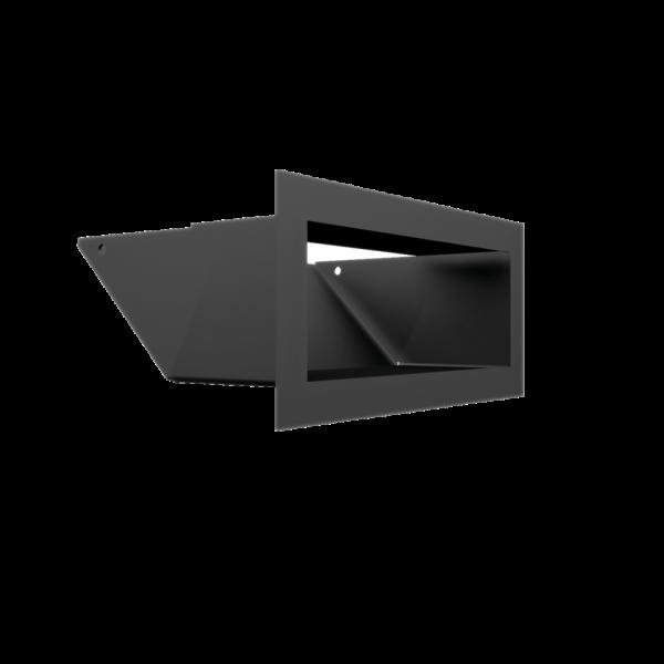 Решітка LUFT SF графітова 9x20