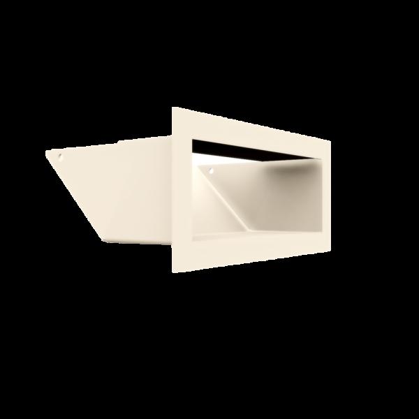 Решітка LUFT SF кремова 9x20