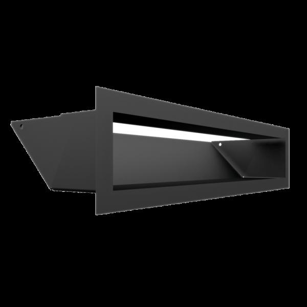 Решітка LUFT чорна 9x40