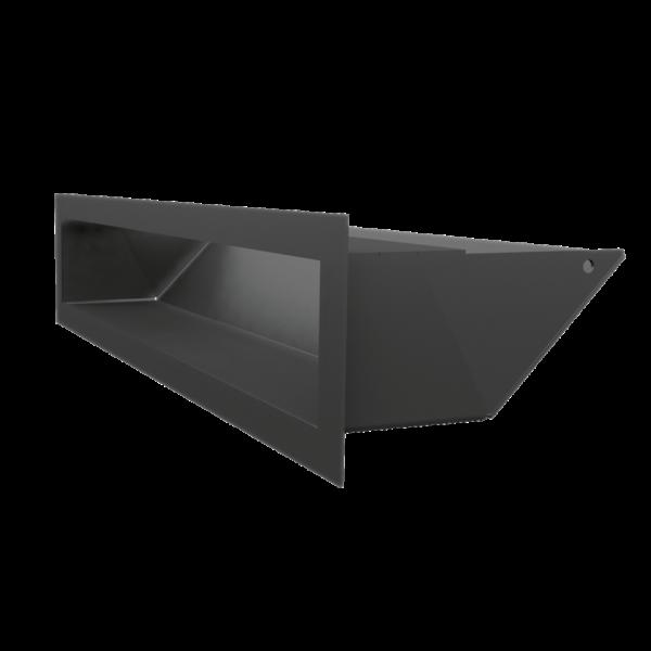 Решітка LUFT SF чорна 9x40