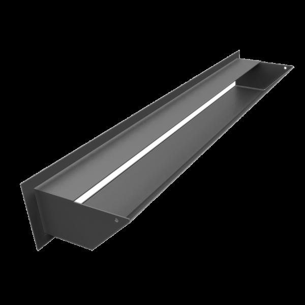 Решітка LUFT SF графітова 9x60
