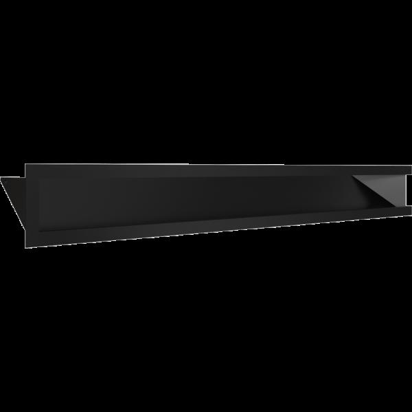 LUFT SF кутовий лівий чорний 80x40x9