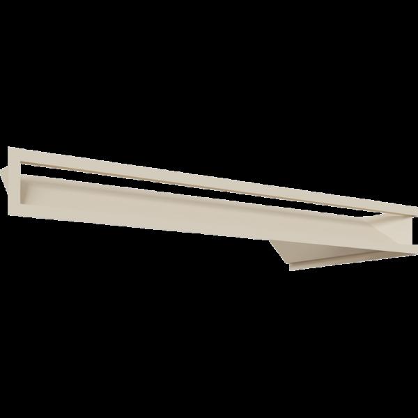 Каминная решетка LUFT SF угловой левый кремовий 80x40x9 Kratki