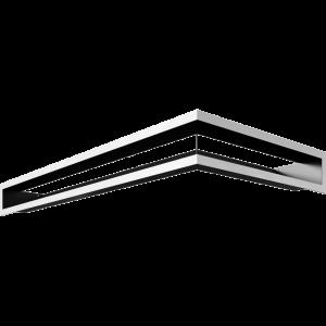 LUFT угловой левый шлифованный 80x40x9