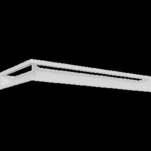 LUFT SF угловой правый белый 40x80x9