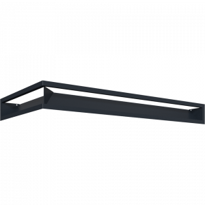 LUFT SF угловой правый графитовый 40x80x9
