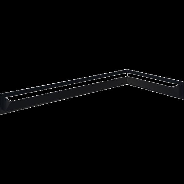 LUFT SF кутовий правий графітовий 40x80x9