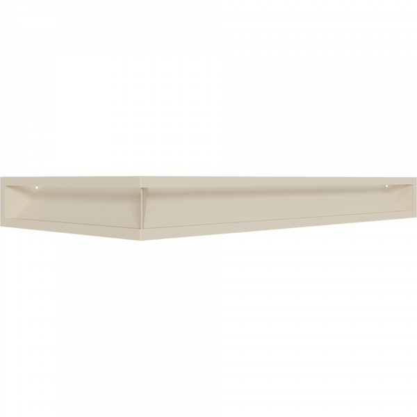 LUFT SF угловой правый кремовий 40x80x9