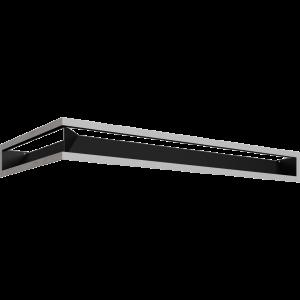 LUFT SF угловой правый шлифованный 40x80x9