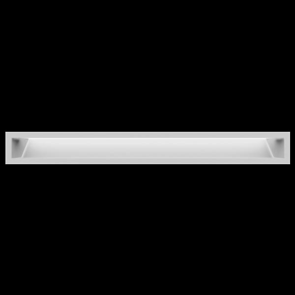 Решітка LUFT біла 9x80