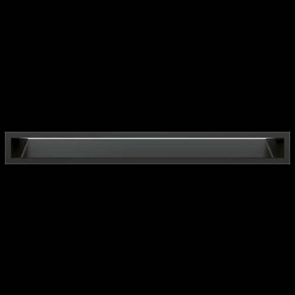 Решітка LUFT чорна 9x80