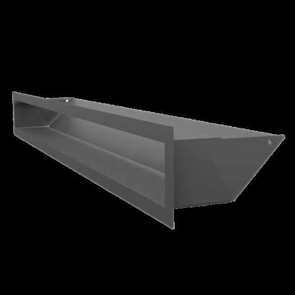 Решітка LUFT графітова 9x80