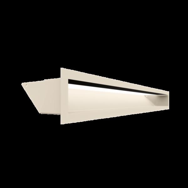 Решітка LUFT кремова 9x80