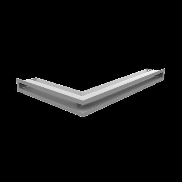 Решітка LUFT SF кутова права біла 40x60x6