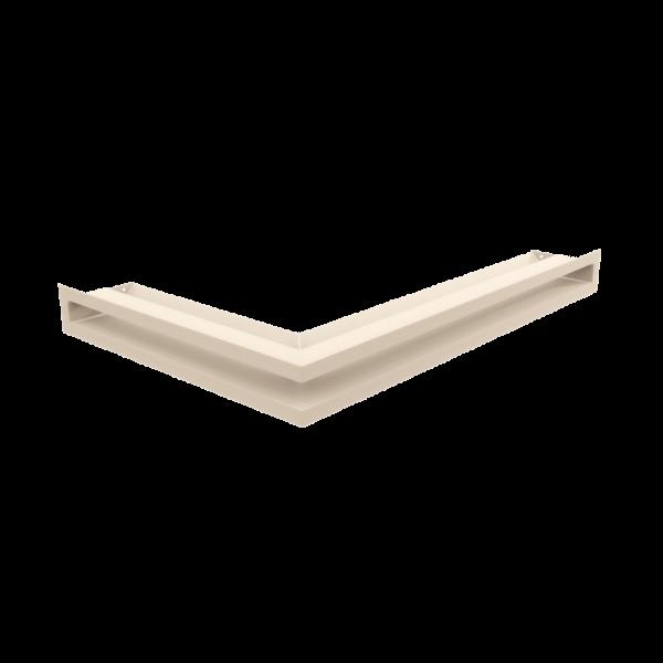 Решітка LUFT кутова права кремова 40x60x6