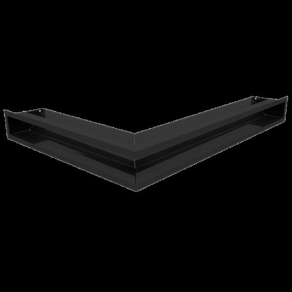 Решітка LUFT SF кутова права чорна 54,7x76,6x9