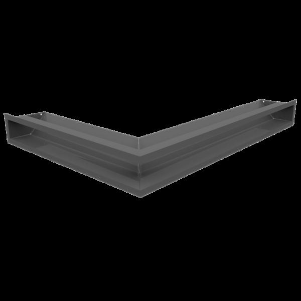 Решітка LUFT кутова права графітова 54,7x76,6x9