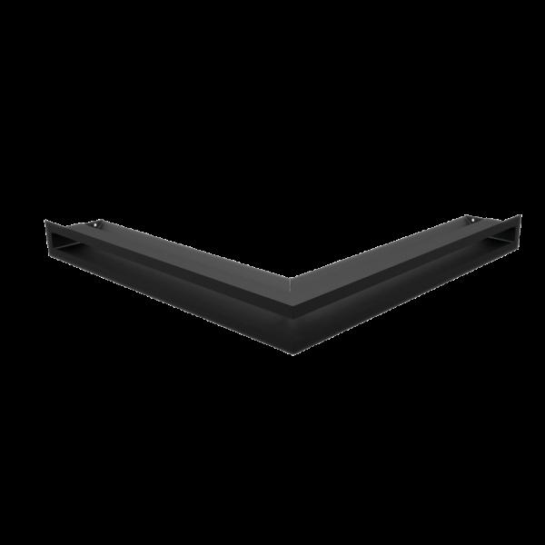 Решітка LUFT кутова чорна 56x56x6