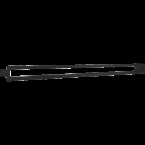 Решітка TUNEL чорна 6x100