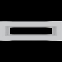 Решітка TUNEL біла 6x20
