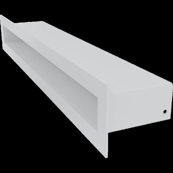 Решітка TUNEL біла 6x40