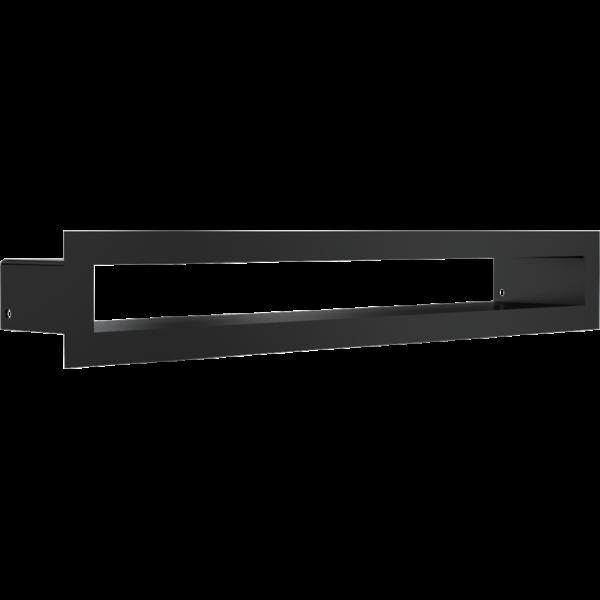 Решітка TUNEL чорна 6x40
