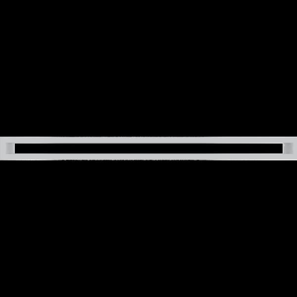 Решітка TUNEL біла 6x80