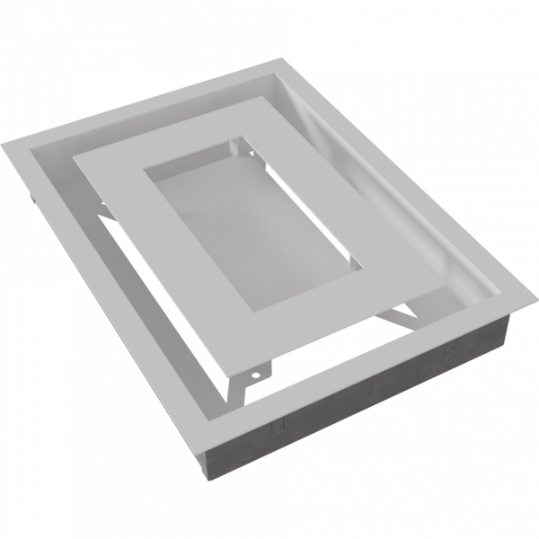 Решітка WIND біла 22x30