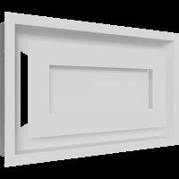 Решітка WIND біла 22x37