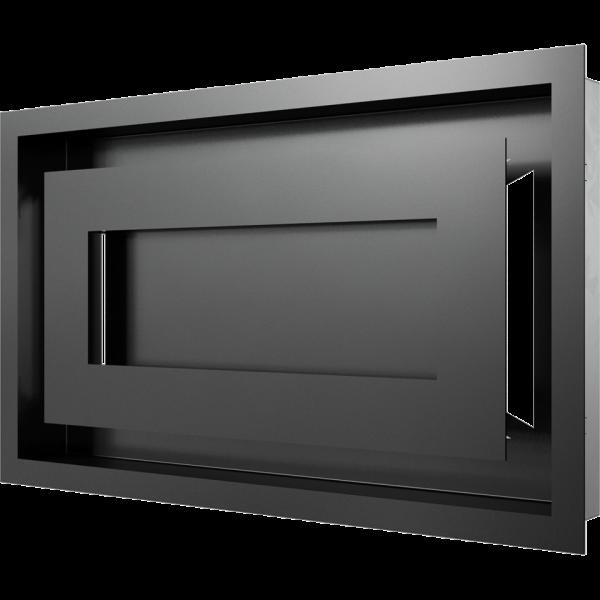 Решітка WIND чорна 22x37