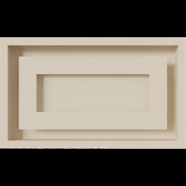 Решітка WIND кремова 22x37