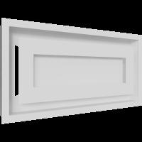 Решітка WIND біла 22x45