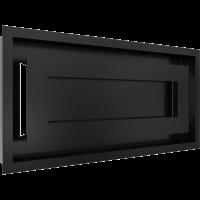 Решітка WIND чорна 22x45