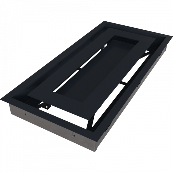 Решітка WIND графітова 22x45